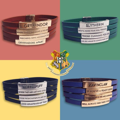 Harry Potter Officially Licensed Housebase Bracelets Bracelets £12.50 Wizarding Wares