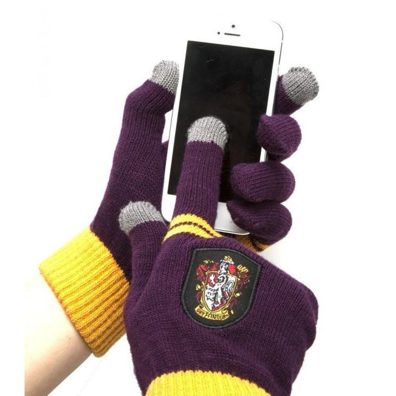 Harry Potter Officially Licensed Housebase e-touch Gloves (Gryffindor) Gloves £17.99 Wizarding Wares