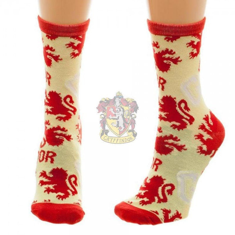 Harry Potter Officially Licensed Housebase Socks (Gryffindor) Harry Potter £6.99 Wizarding Wares