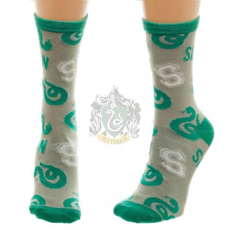 Harry Potter Officially Licensed Housebase Socks (Slytherin) Harry Potter £6.99 Wizarding Wares