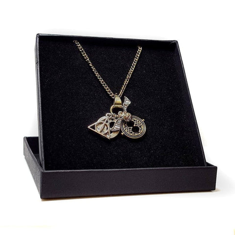 Harry Potter Officially Licensed Multi Charm Necklace + Gift Box Jewellery £12.99 Wizarding Wares