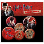 Harry Potter Officially Licensed Pin Badge Set (  x5 Badges  ) Accessories £3.99 Wizarding Wares