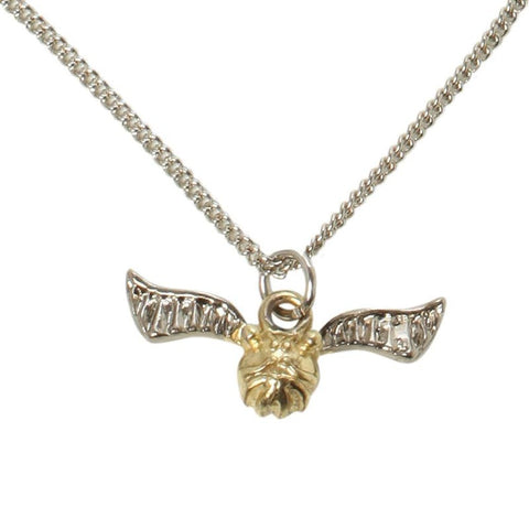 Harry Potter Officially Licensed Quiddich Golden Snitch Necklace V2 Jewellery £7.99 Wizarding Wares
