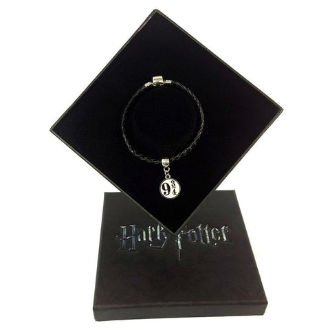 Harry Potter Platform 9 &3/4 Charm + Bracelet + Gift Box Jewellery £14.99 Wizarding Wares
