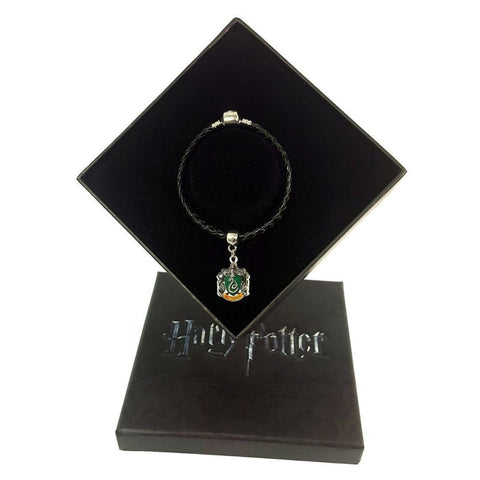 Harry Potter Slytherin Charm + Bracelet + Gift Box Jewellery £14.99 Wizarding Wares