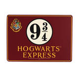 "Harry Potter Metal Sign ""The Hogwarts Express"""