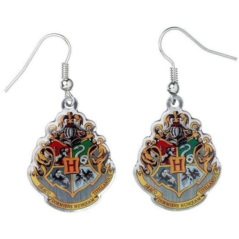 ( Hogwarts School Crest )  Harry Potter Officially Licensed Earrings Jewellery £8.99 Wizarding Wares