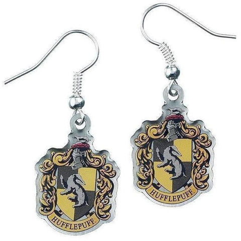 ( Hufflepuff Housebase )  Harry Potter Officially Licensed Earrings Jewellery £8.99 Wizarding Wares