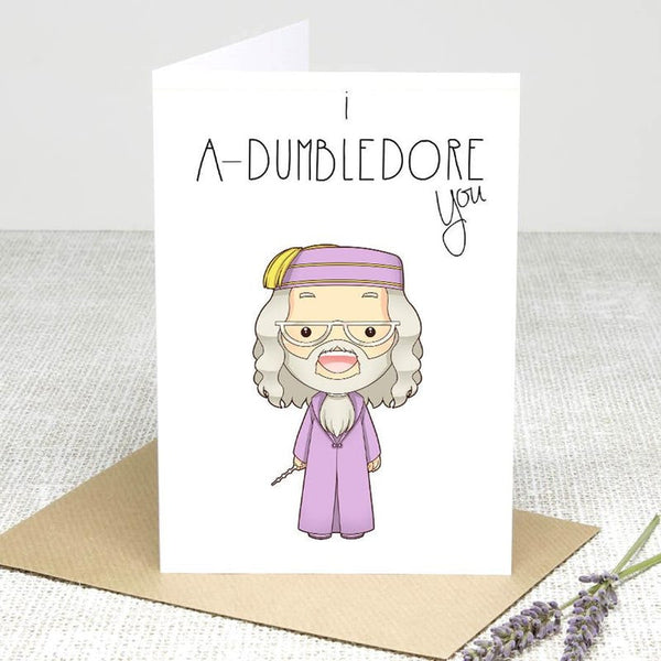 I Adore You! Greeting Cards £2.99 Wizarding Wares