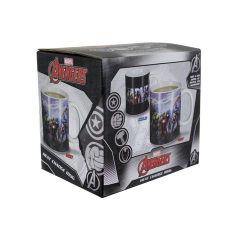 Marvel Avengers Officially Licensed HEAT CHANGING Mug Mug £7.99 Wizarding Wares