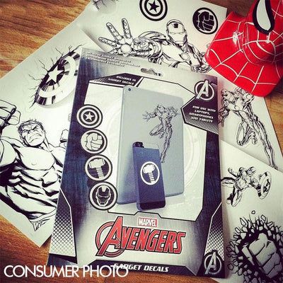 Marvel Avengers Waterproof Sticker Set