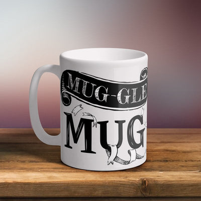 Mug-gle Mug 11oz White Ceramic Mug