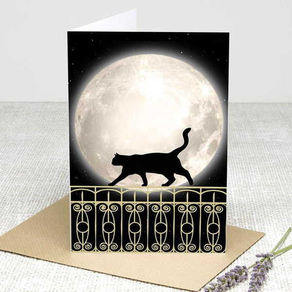 Mystical kitty cat any occasion card Greeting Cards £2.99 Wizarding Wares