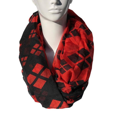 Harley Quinn Fashion Scarf