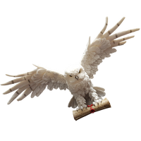 1:2 Scale Snowy Owl carrying letter (Limited Exclusive)