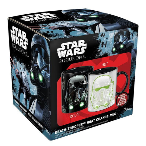 Star Wars Death Trooper Officially Licensed ( HEAT CHANGE ) Mug Mug £6.99 Wizarding Wares