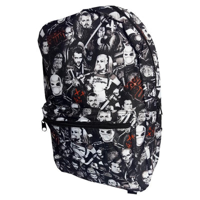 Suicide Squad Characters Backpack (Limited Stock)