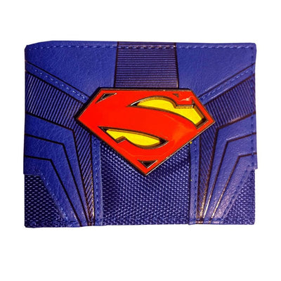 Superman Mens Wallet with metal Logo