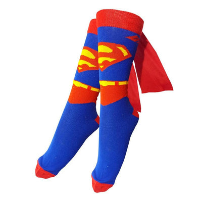 Superman Socks (With Capes)