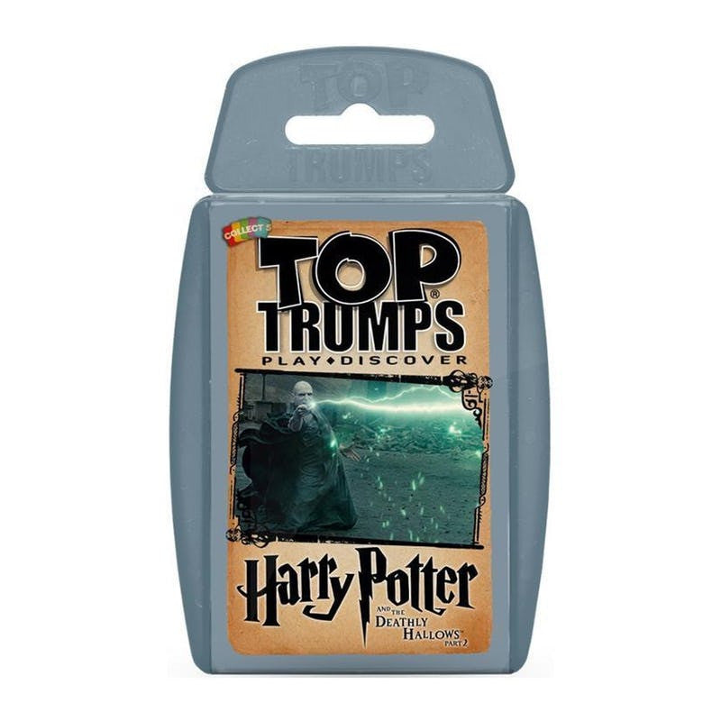 Top Trumps - Harry Potter & the Deathly Hallows Part 2 Top Trumps £4.99 Wizarding Wares