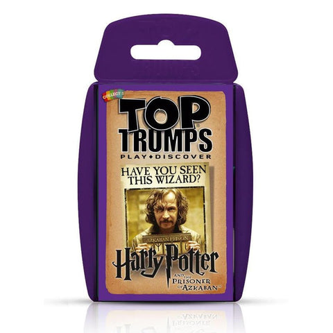 Top Trumps - Harry Potter and the Prisoner of Azkaban Top Trumps £4.99 Wizarding Wares