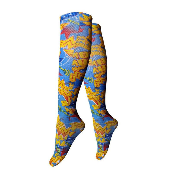 Wonder Woman Officially Licensed Knee High Socks Socks £12.99 Wizarding Wares