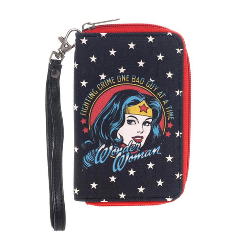 Wonder Woman Officially Licensed Wallet/Purse with wristlet Accessories £12.99 Wizarding Wares