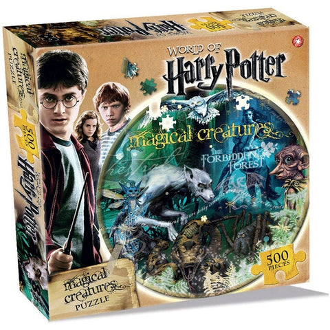 World of Harry Potter Magical Creatures Jigsaw Puzzle (500 piece) Jigsaws £9.99 Wizarding Wares