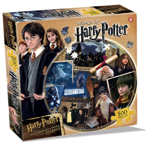 World of Harry Potter Philosopher's Stone Jigsaw Puzzle (500 piece) Jigsaws £9.99 Wizarding Wares