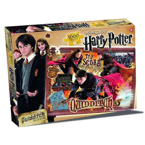 World of Harry Potter Quiddich Jigsaw Puzzle (1000 piece) Jigsaws £11.99 Wizarding Wares