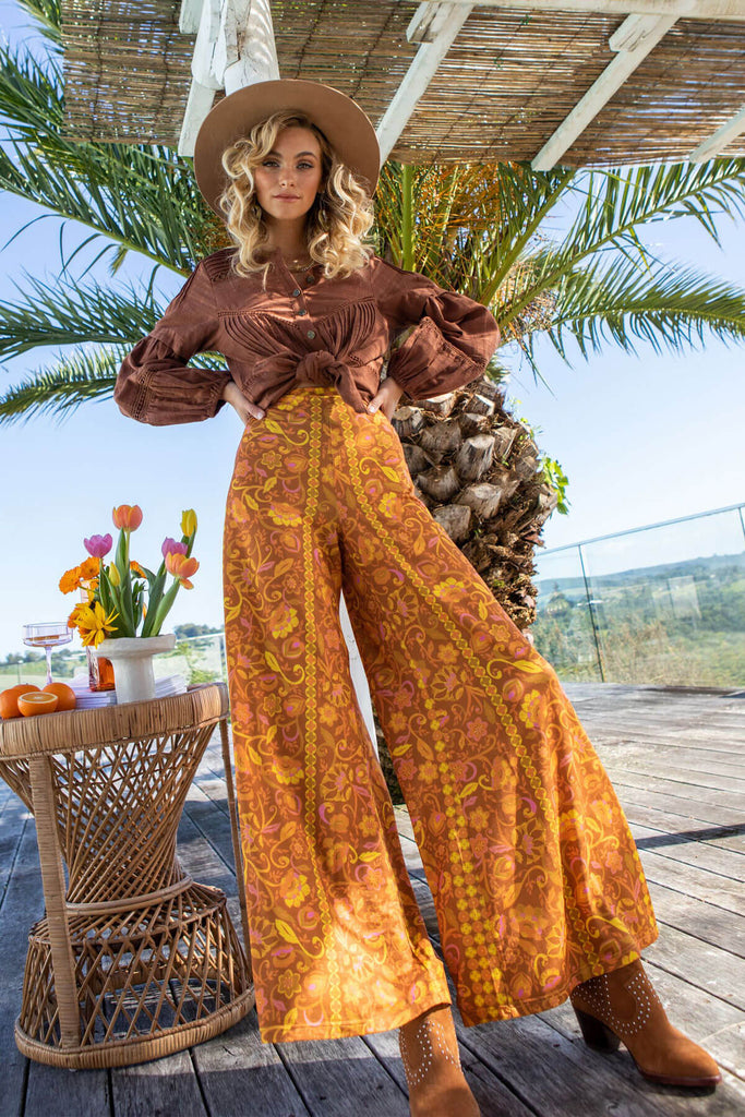 Tie bikini in Golden Romance