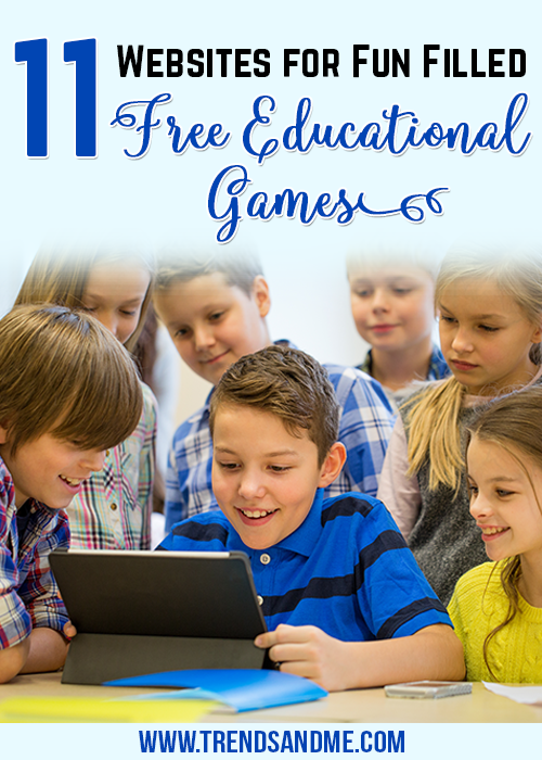 11 Websites For Fun Filled Educational Games