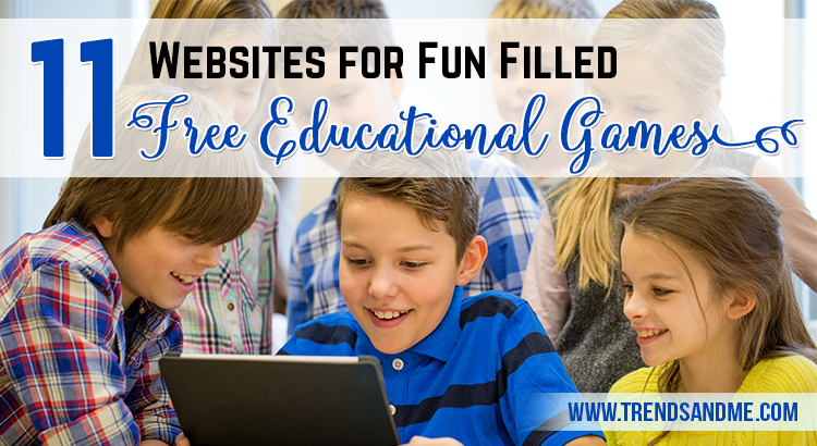 11 Websites For Fun Filled Free Educational Games