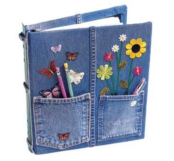 Blue Jean Notebook
