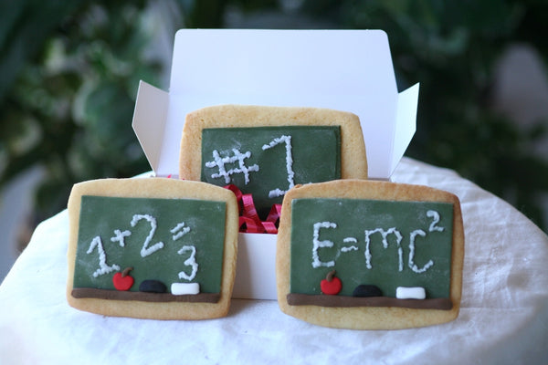 Chalkboard Cookies via Sugar Turntable