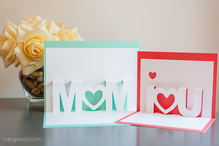 Mothers day popup card