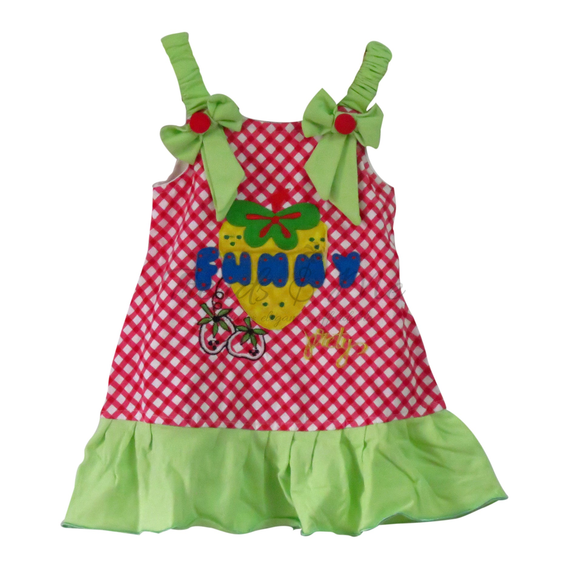 de3b47475 Green and Red Spaghetti Dress - Trends and Me