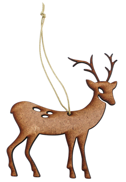 Wooden Christmas Deer