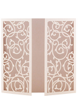 Enchanted Garden Invitation Folders - Pink