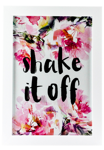 """Shake it Off"" Framed Poster"