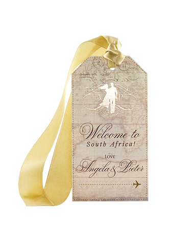 Royal Livingstone Luggage Tag