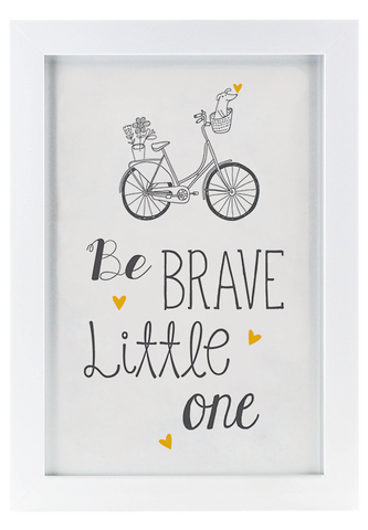 Be Brave - Framed