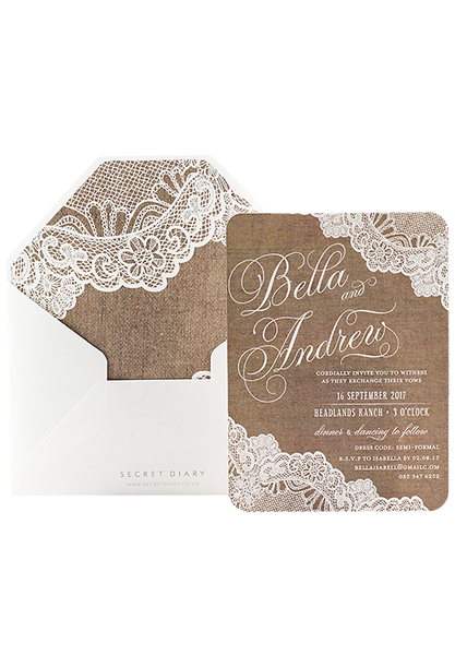 Lola Lace Invitation