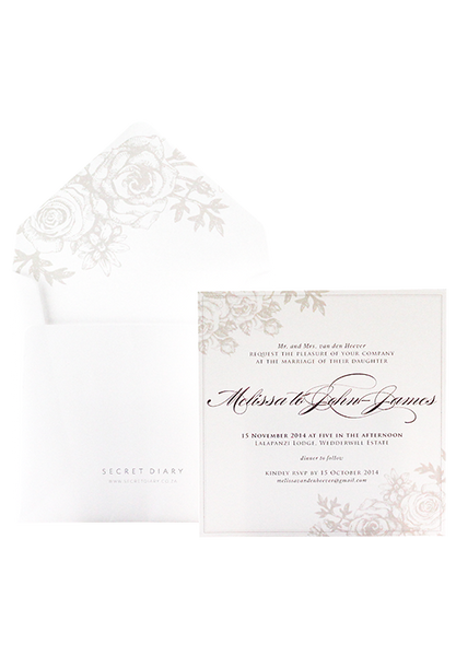 Briar Rose Invitation
