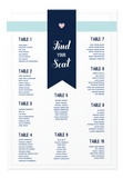 Maia Seating Chart Canvas