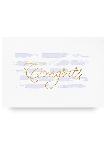 Congrats Letter Press Cards