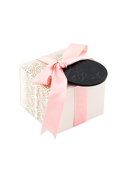 Mon Cherie Gift box and Tag