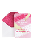 Bling Bridesmaids Invitation