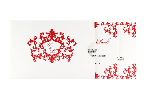 A Royal Affair Invitation - Red Edition