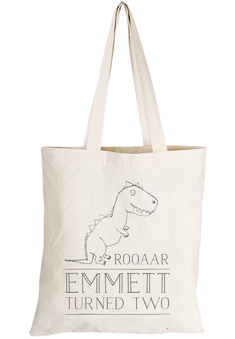 Dino Tote Party Bag